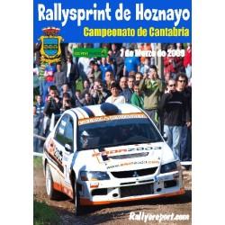 Rallysprint de Hoznayo 2009