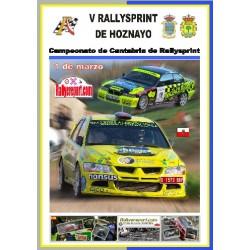 Rallysprint de Hoznayo 2008