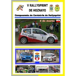 Rallysprint de Hoznayo 2007