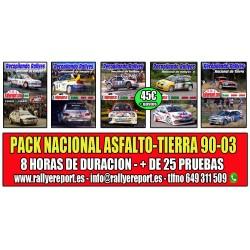 Pack Nacional de Rallyes