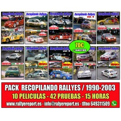Pack Recopilando Rallyes 90-03