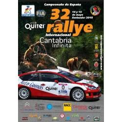 Rallye Cantabria Infinita 2010